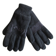 Fashion Black  Jacquard Gloves