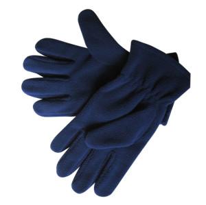 Blue Fleece Gloves