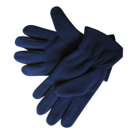 Blue Fleece Gloves
