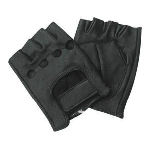 Fashion Black leather Gloves