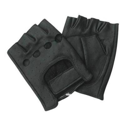 Fashion Black leather Gloves