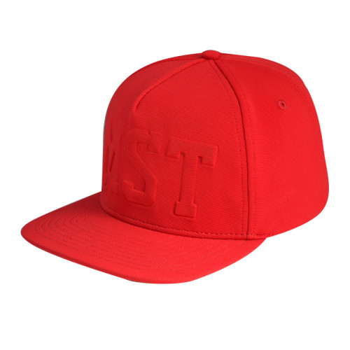 5 Panel Snapback Cap with Embossed Logo