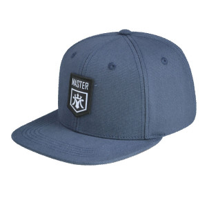 6 Panel Snapback Cap with Woven Label Badge
