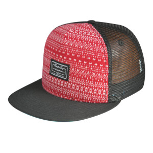 5 Panel Snapback Cap with Woven Lable