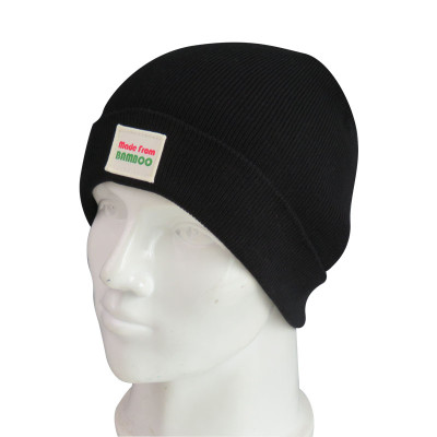 The knit Beanie is made of Bamboo Fiber