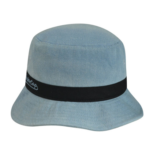 Washed bucket hat sun hat