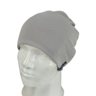 Cloth Beanie with Woven Label