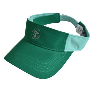 100% cotton visor with Reflective plate printing