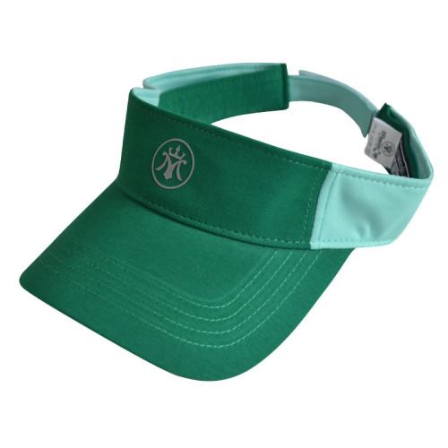 100% cotton visor with Reflective plate printing