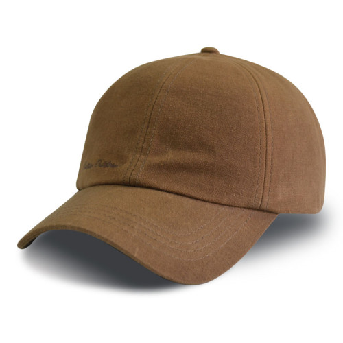 Custom 6 panel  baseball cap with embroidery