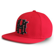 Fashion custom 3D embroidery 6-panel stretch-fit cap