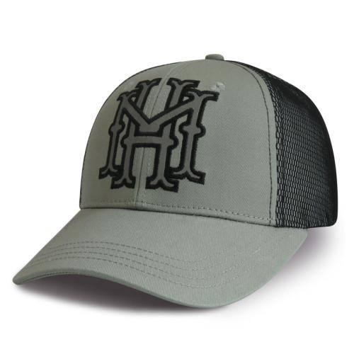 Custom hight quality adjustable 6-panel baseball cap