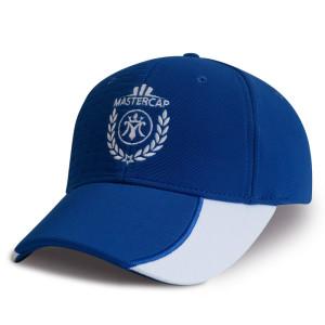 Custom ottoman embossed sports racing cap