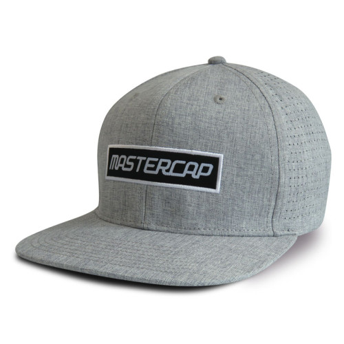 6 Panel Snapback Cap and Hat with Applique Embroidery Logo