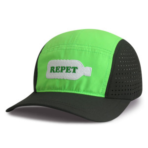 Repet 5 panel Sports cap with embroidery logo