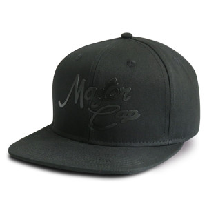 Custom 6-panel snapback cap with embossed logo