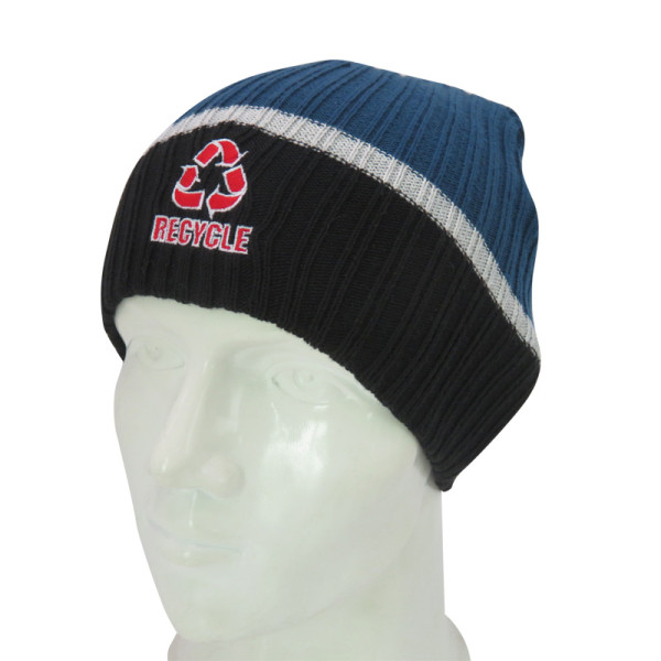 Knit Beanie with Embroidery logo