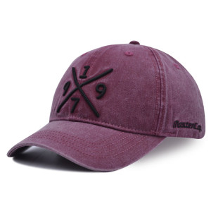 6 panel baseball cap with 3D embroidery logo