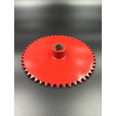 Agriculture Sprocket 40C48T Red Painted
