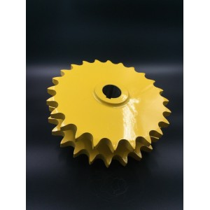 Agriculture Machine Sprocket D80C-24H Yellow painted