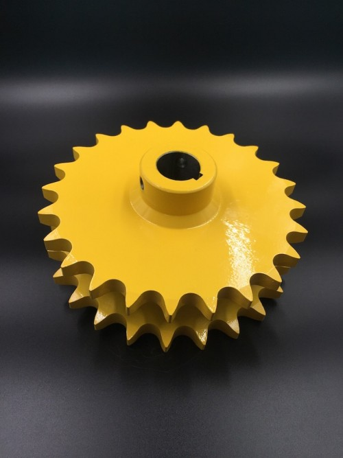 Agriculture Sprocket D80C-24H Yellow painted