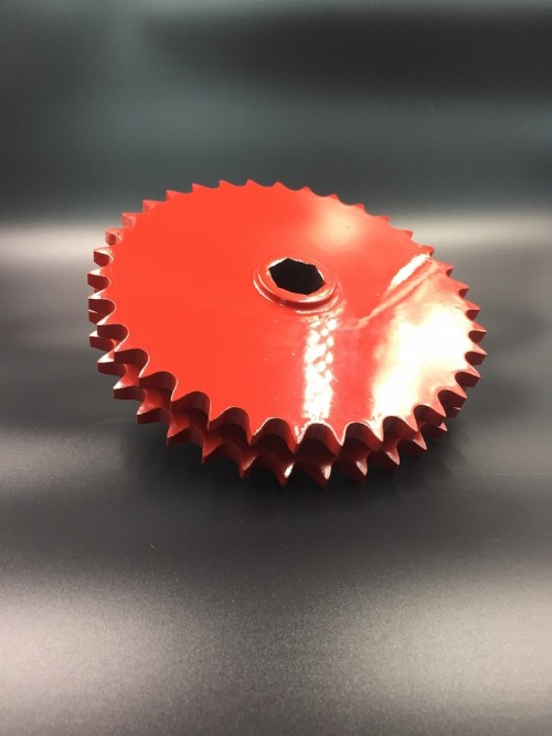 Agriculture Sprocket D60C-35H Red painted