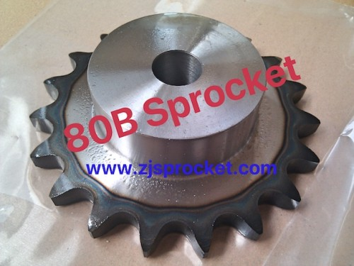 80B Martin Roller Chain Sprockets steel, C45 pilot bore
