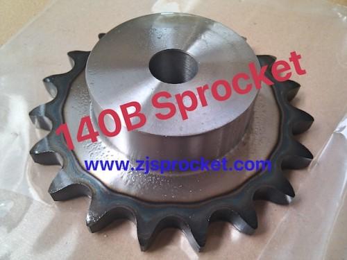 140B Martin Roller Chain Sprockets steel, C45 pilot bore