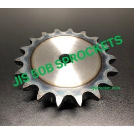 50B JIS Roller Chain Sprockets steel, C45 pilot bore, teeth harden