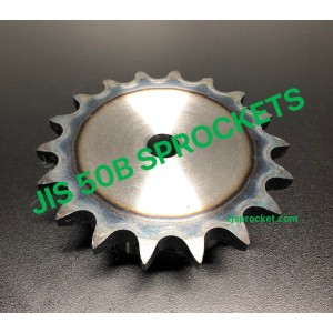 50B JIS Roller Chain Sprockets steel, C45 pilot bore, teeth harden