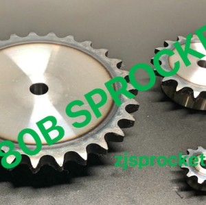 80B JIS Roller Chain Sprockets steel, C45 pilot bore, teeth harden