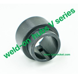 weld-on hubs V series Steel C45 Blackoxided