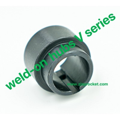 weld-on hubs V series Steel C45 Blackoxided