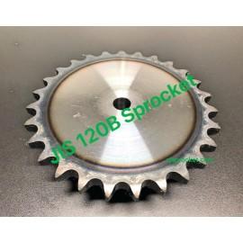 120B JIS Roller Chain Sprockets steel, C45 pilot bore, teeth harden