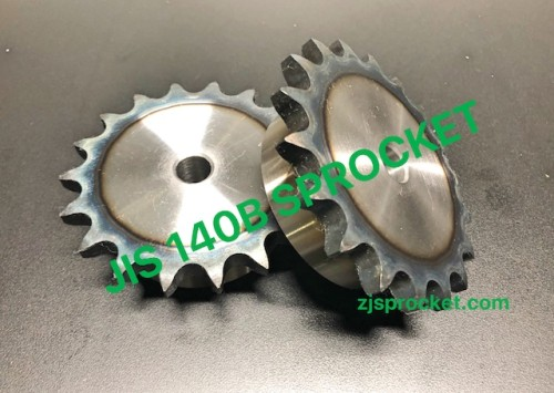 140B JIS Roller Chain Sprockets steel, C45 pilot bore, teeth harden