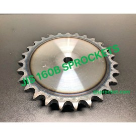 160B JIS Roller Chain Sprockets steel, C45 pilot bore, teeth harden