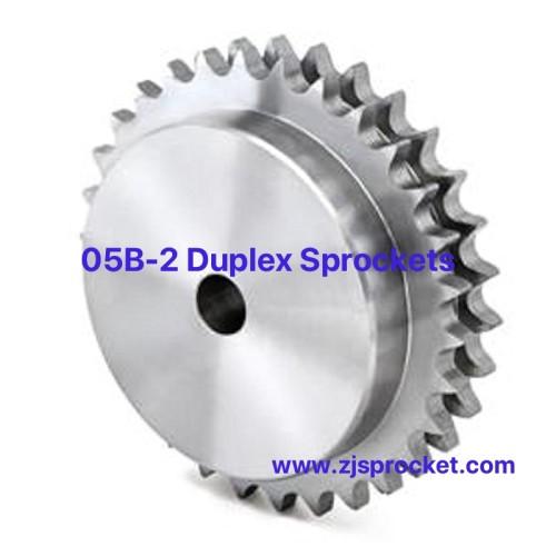 05B-2 British Standard Duplex Roller Chain Sprockets
