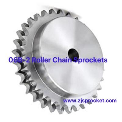 06B-2 British Standard Duplex Roller Chain Sprockets
