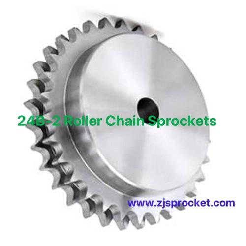 24B-2 British Standard Duplex Roller Chain Sprockets