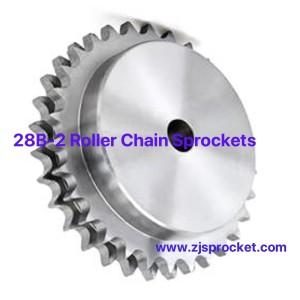 28B-2 British Standard Duplex Roller Chain Sprockets