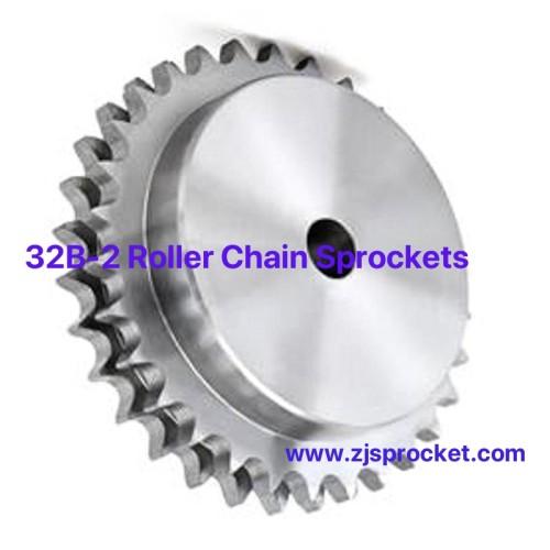 32B-2 British Standard Duplex Roller Chain Sprockets