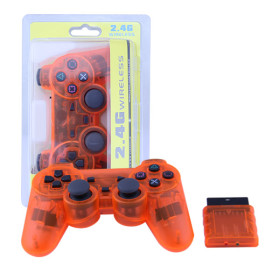 PS2 Wireless Controller Gamepad 2.4G Vibration Controle Joystick