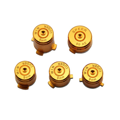 Xbox One Wireless Controller Aluminium ABXY Replacement Buttons Mod Kit