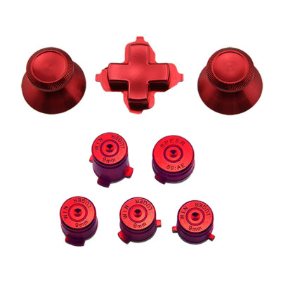 Xbox One Controller Replacement Parts Button Set (Red)