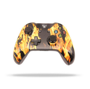 Xbox One Original Refurbished Wireless Controller (Flame)
