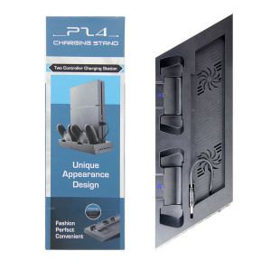 PS4 2 in1Cooling Charging Dock Stand With LED