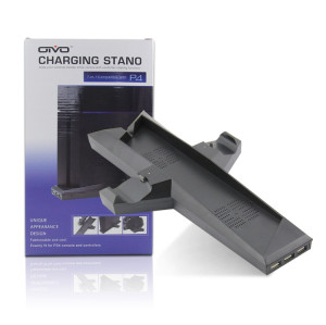 PS4 Console Vertical Stand with Cooling Fans
