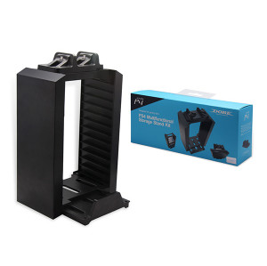 PS4 Multifunctional Storage Stand Kit With Charger Station