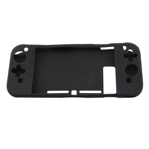 Nintendo Switch Antiskid Rubber Soft Silicone Console Protective Case Cover Black