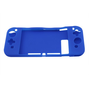Nintendo Switch Antiskid Rubber Soft Silicone Console Protective Case Cover Blue
